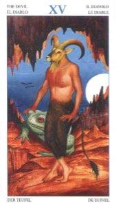Tarotkaart 'De Duivel'