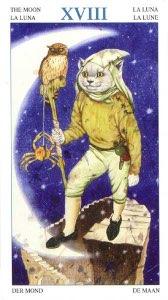 Tarotkaart 'De Maan'