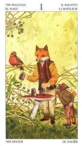 Tarotkaart 'De Magiër'