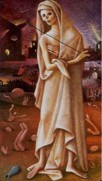 Tarotkaart 'De Dood'