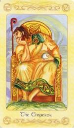 Tarotkaart 'De Keizer'