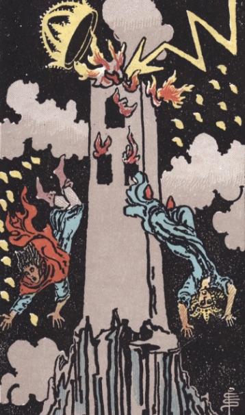 """Tarotkaart """"De Toren"""""""