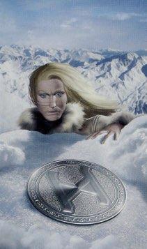 """Tarotkaart """"De Kluizenaar"""" (uit het tarotdeck """"Elves"""")"""