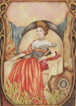 Tarotkaart 'De Keizerin'