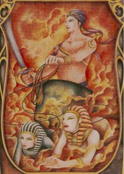 Tarotkaart 'De Zegewagen'