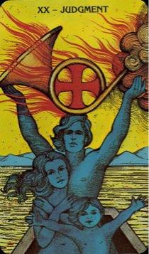 Tarotkaart 'Het Oordeel'
