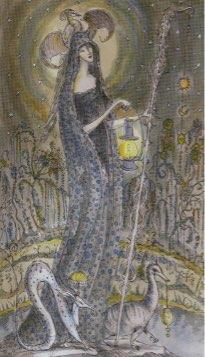 Tarotkaart 'De Kluizenaar'