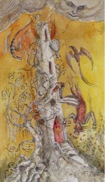 Tarotkaart 'De Toren'