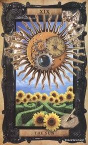 Tarotkaart 'De Zon'