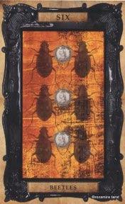 Tarotkaart 'Zes van Pentagrammen'