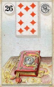 Lenormand kaart 'Het boek'