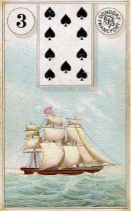 Lenormand kaart 'Het Schip'