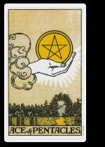 Tarot Pentagrammen